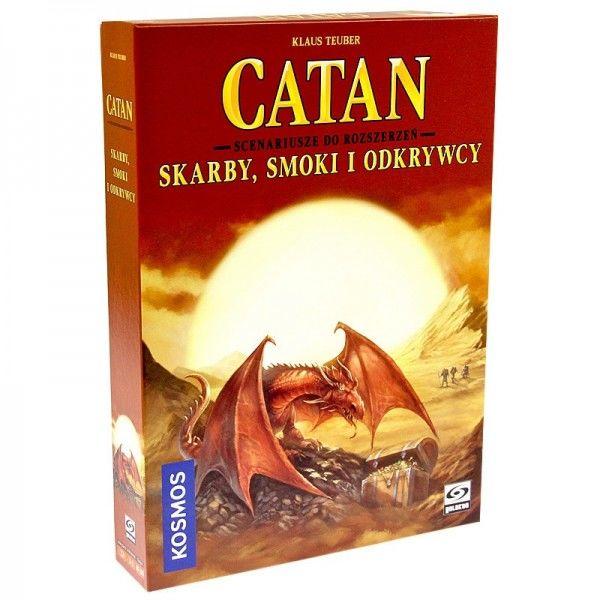 Catan - Skarby, Smoki i Odkrywcy ZAKŁADKA DO KSIĄŻEK GRATIS DO KAŻDEGO ZAMÓWIENIA
