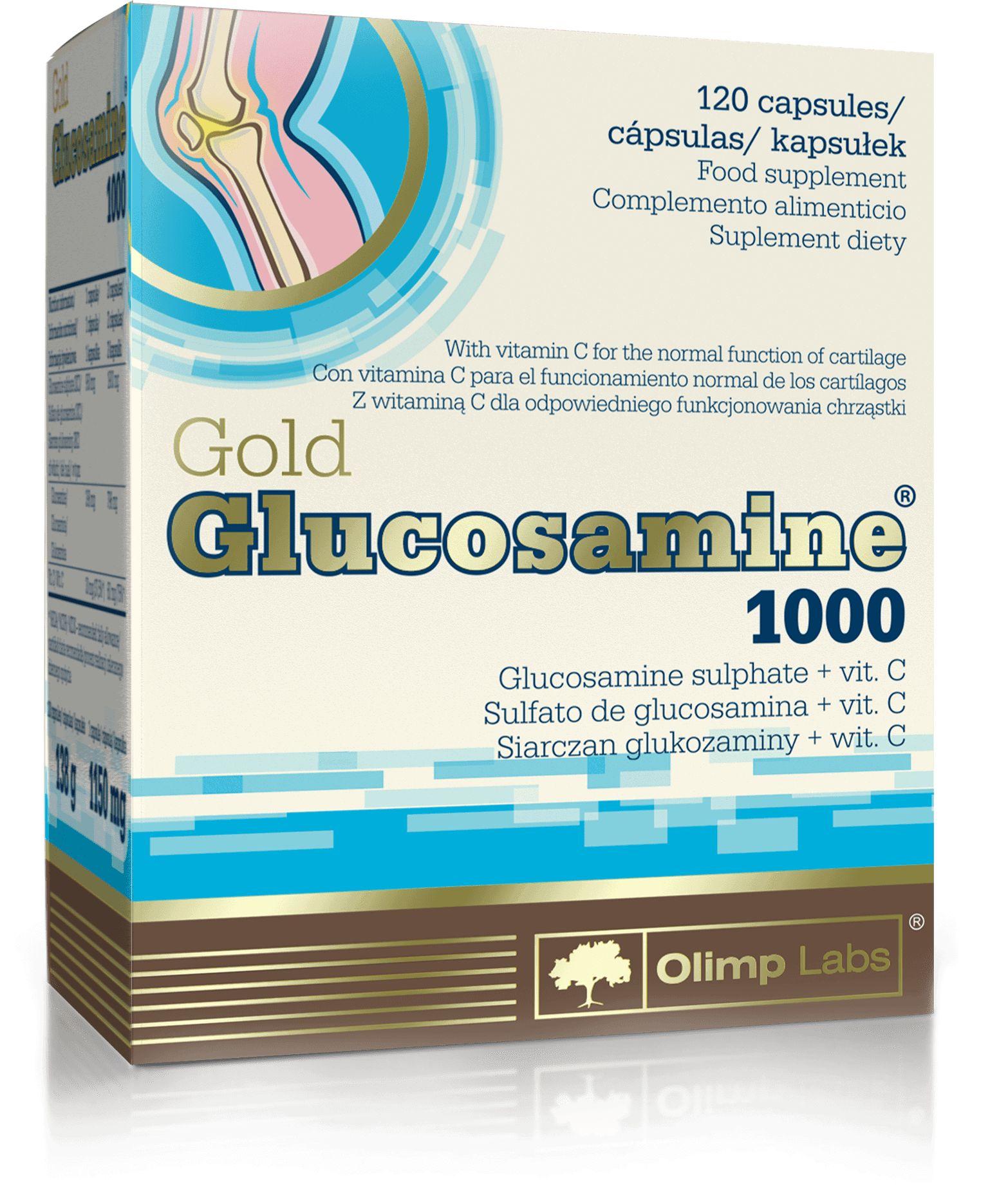 OLIMP GOLD GLUCOSAMINE 1000 (STAWY) 60 Kapsułek