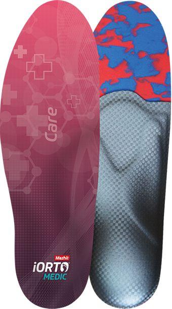 Dynamiczna wkładka na płaskostopie podłużne, supinację i pronację - dobra stabilizacja pięty i amortyzacja stopy (iORTO MEDIC CARE)