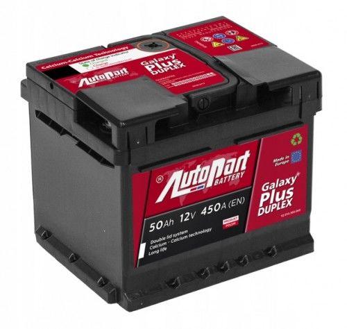 Akumulator AUTOPART GALAXY PLUS Duplex 50AH 450A
