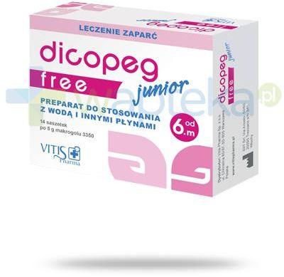 Dicopeg Junior Free od 6. miesiąca życia 14 saszetek