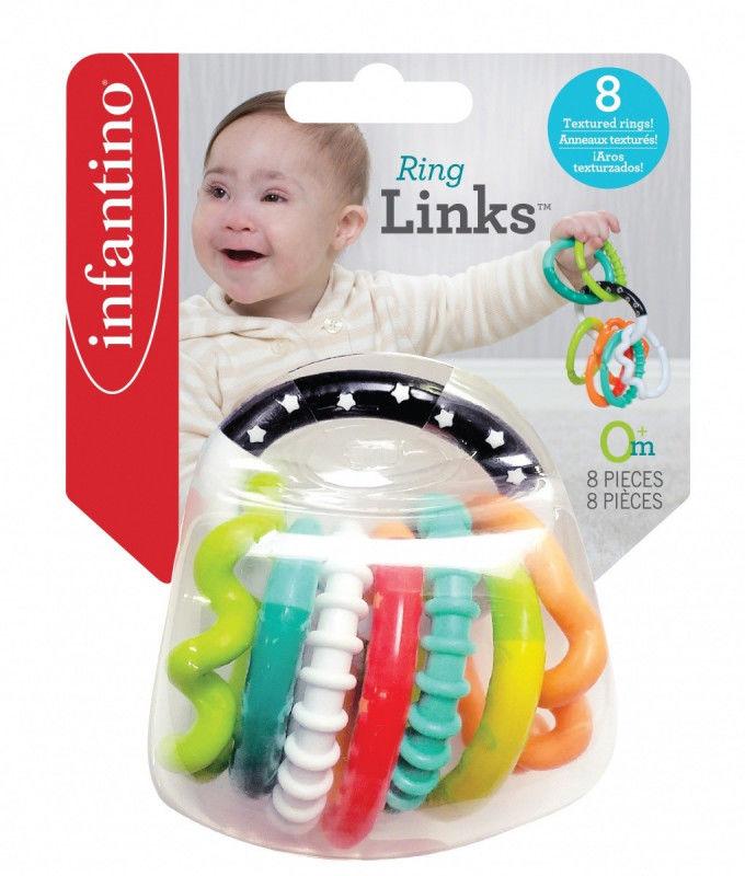 Łańcuch gryzaczków Infantino 8 elementów