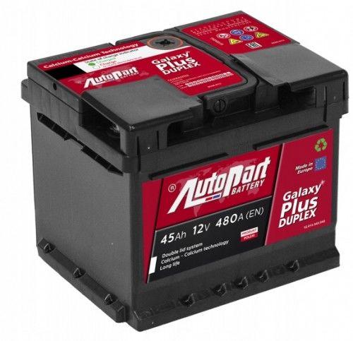 Akumulator AUTOPART GALAXY PLUS Duplex 45AH 480A