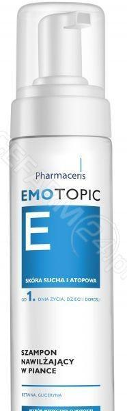 Pharmaceris Emotopic szampon nawilżający w piance do codziennego stosowania 200 ml