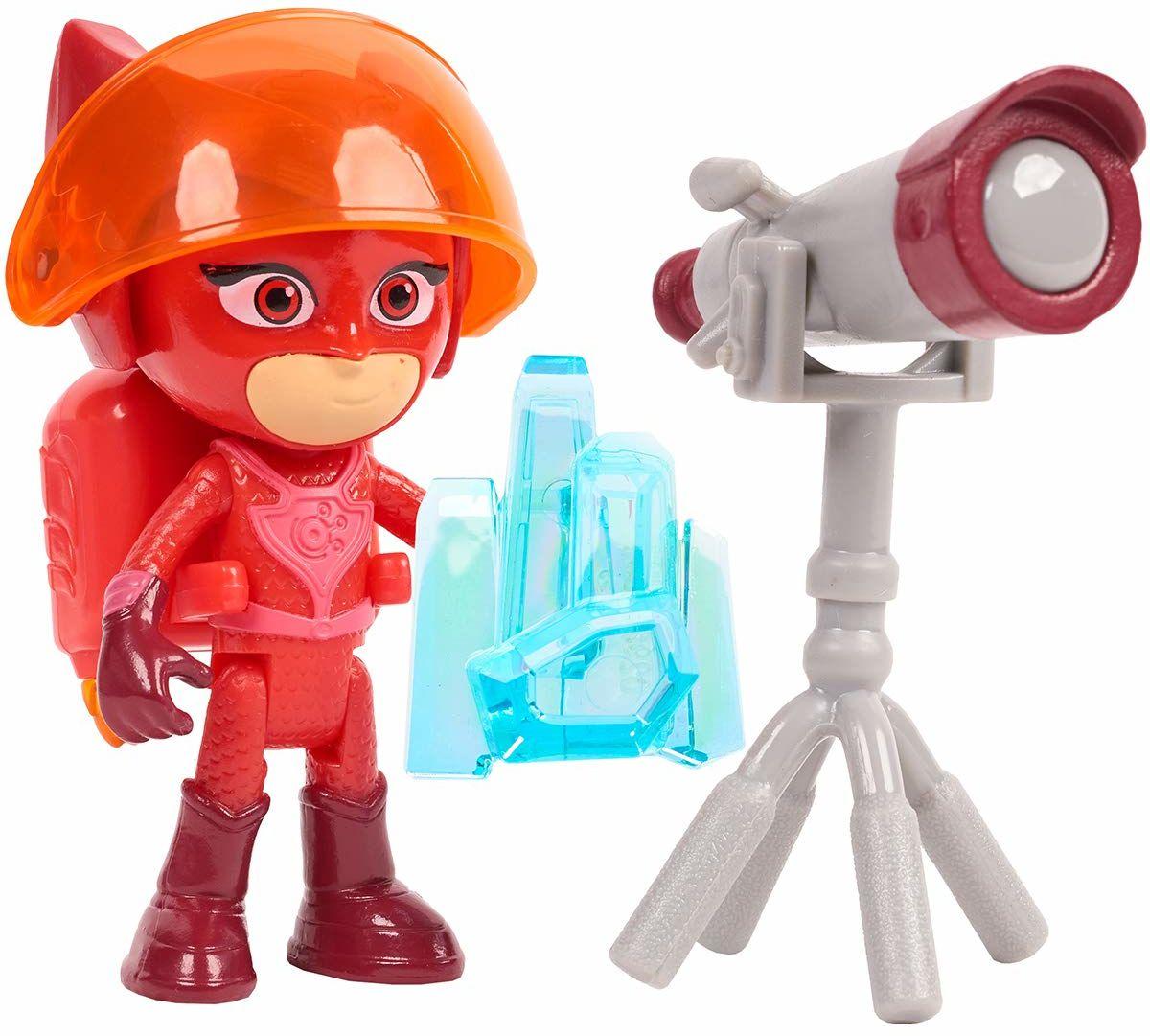 Simba 109402363 - PJ Masks figurka do zabawy sulette / pidżama bohater / figurka akcji / ruchome / akcesoria ze światłem / 8 cm wielkości, dla dzieci od 3 lat