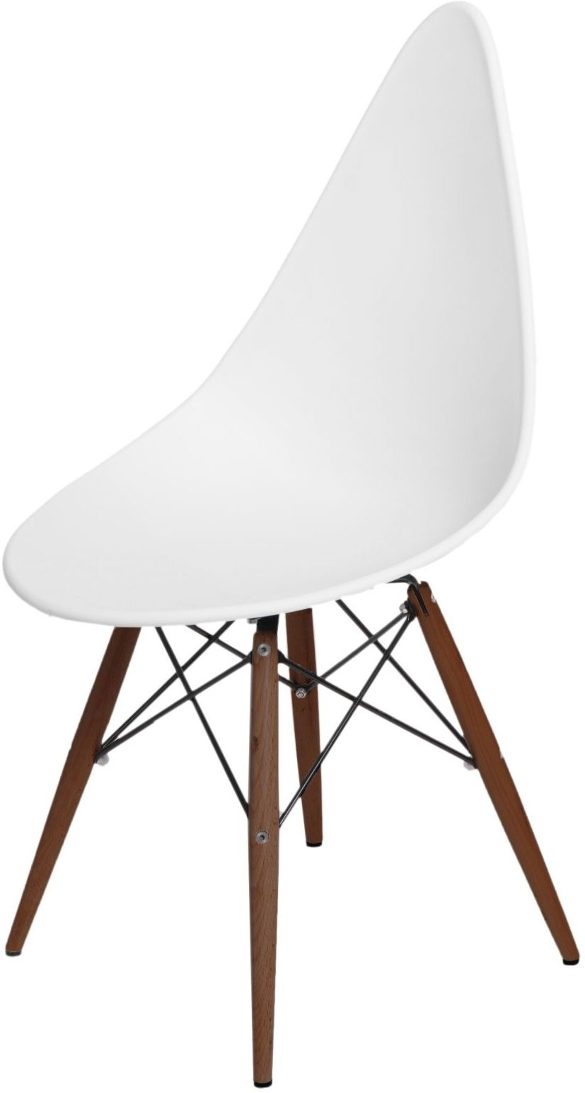 D2 Krzesło Rush DSW białe/dark