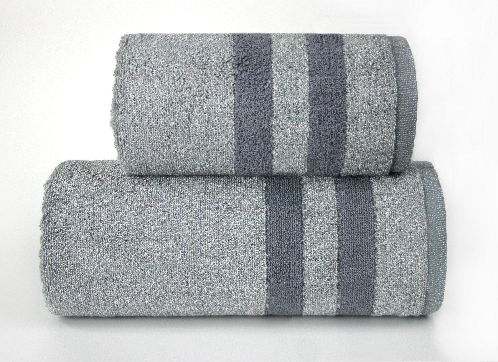 Ręcznik bawełniany Greno Denim Popielaty