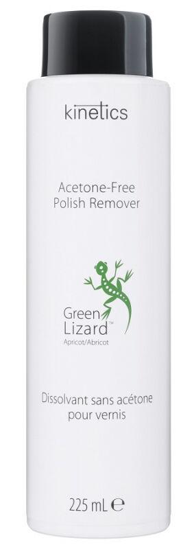 Kinetics - Acetone-Free Polish Remover - Green Lizard Apricot - Zmywacz do paznokci bez acetonu