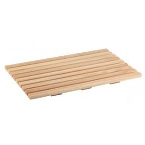 Deska prostokątna drewniana do krojenia pieczywa GN 1/1 530x325mm