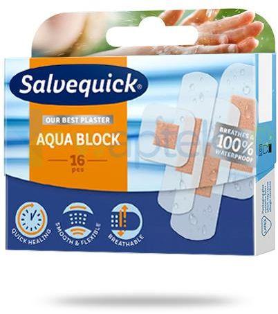 Salvequick Aqua Block plastry 16 sztuk