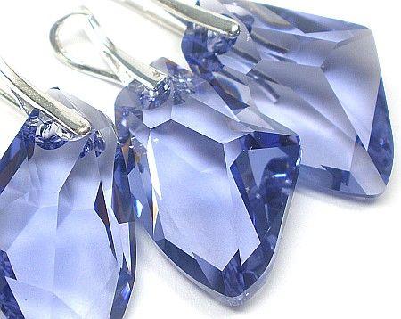 Kryształy komplet GALACTIC Tanzanit