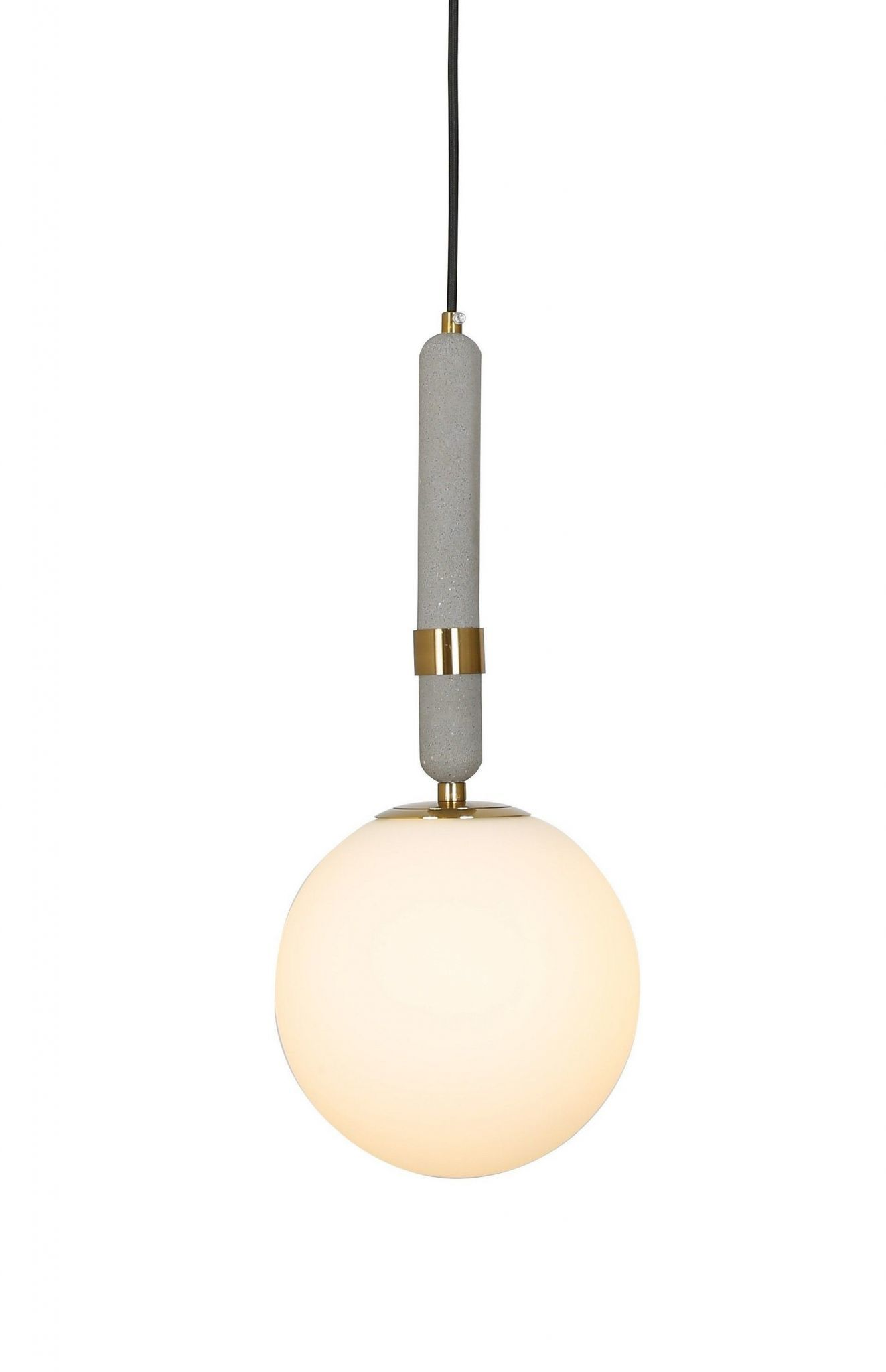 NOWOCZESNA LAMPA WISZĄCA MOSIĘŻNA GRANINO D20