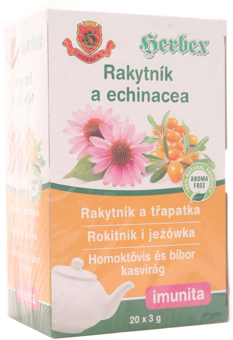 Herbata rokitnik i jeżówka - Herbex - 20 saszetek