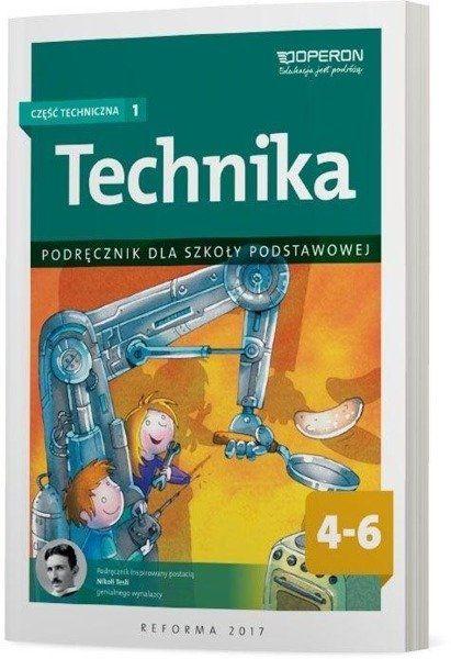 Technika podręcznik dla klas 4-6 część techniczna 1 szkoły podstawowej - Urszula Białka