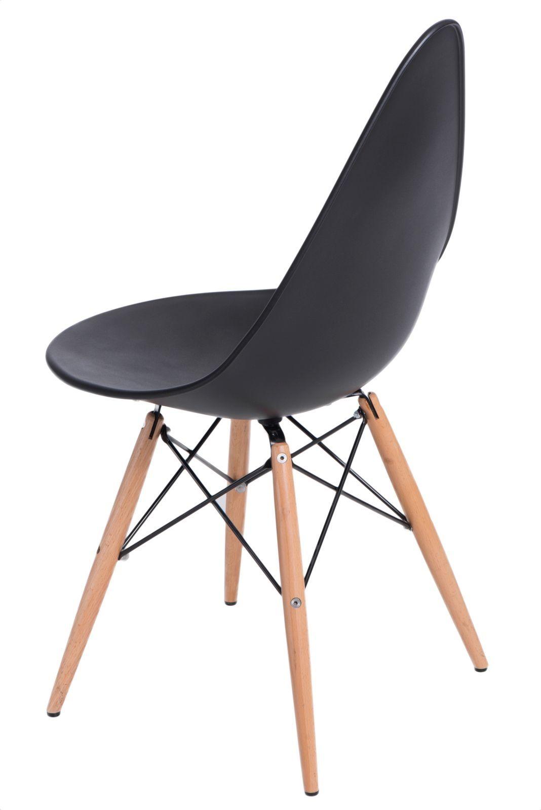 D2 Krzesło Rush DSW czarne