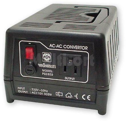 Konwerter napięcia sieciowego 230VAC/110VAC 300W