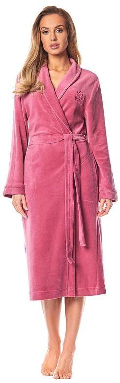 Damski chłonny szlafrok Sarah w kolorze starego różu