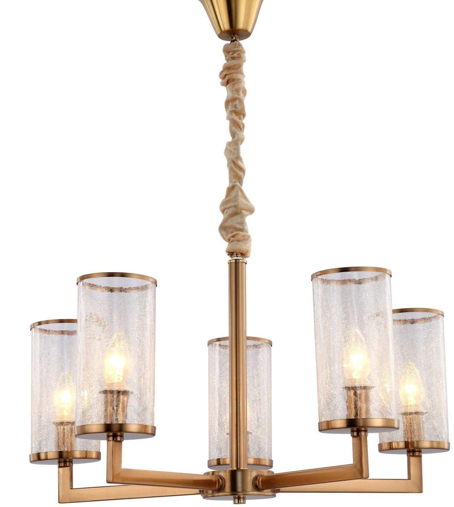 LAMPA WISZĄCA NOWOCZESNA MOSIĘŻNA HOWARD W5