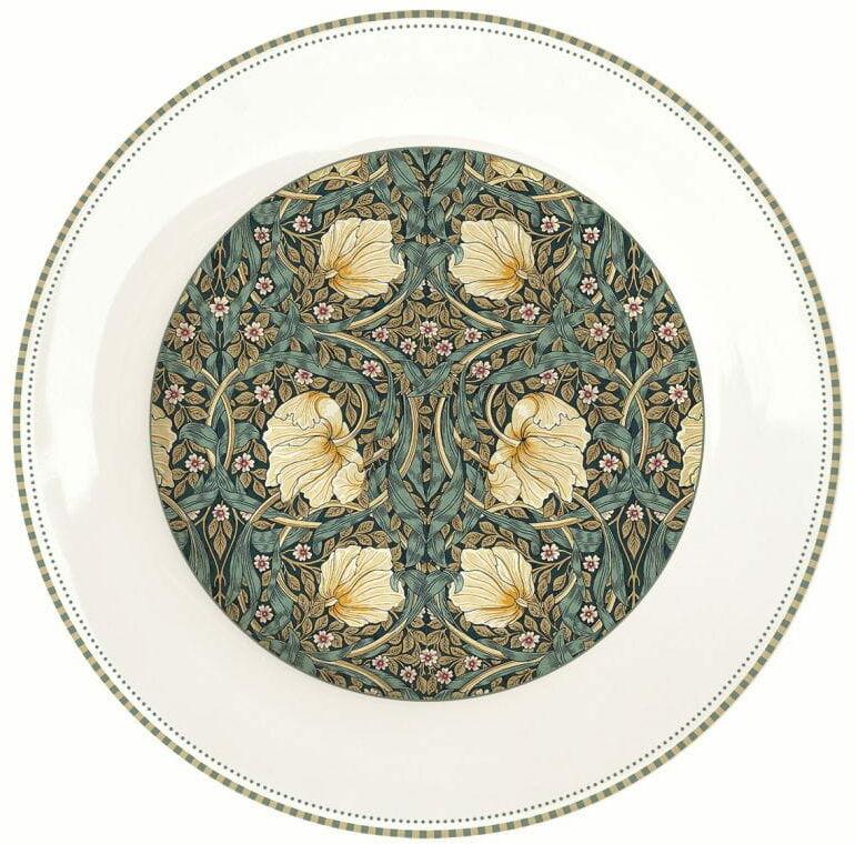 Easy Life/Nuova R2S, talerz obiadowy, płaski - William Morris