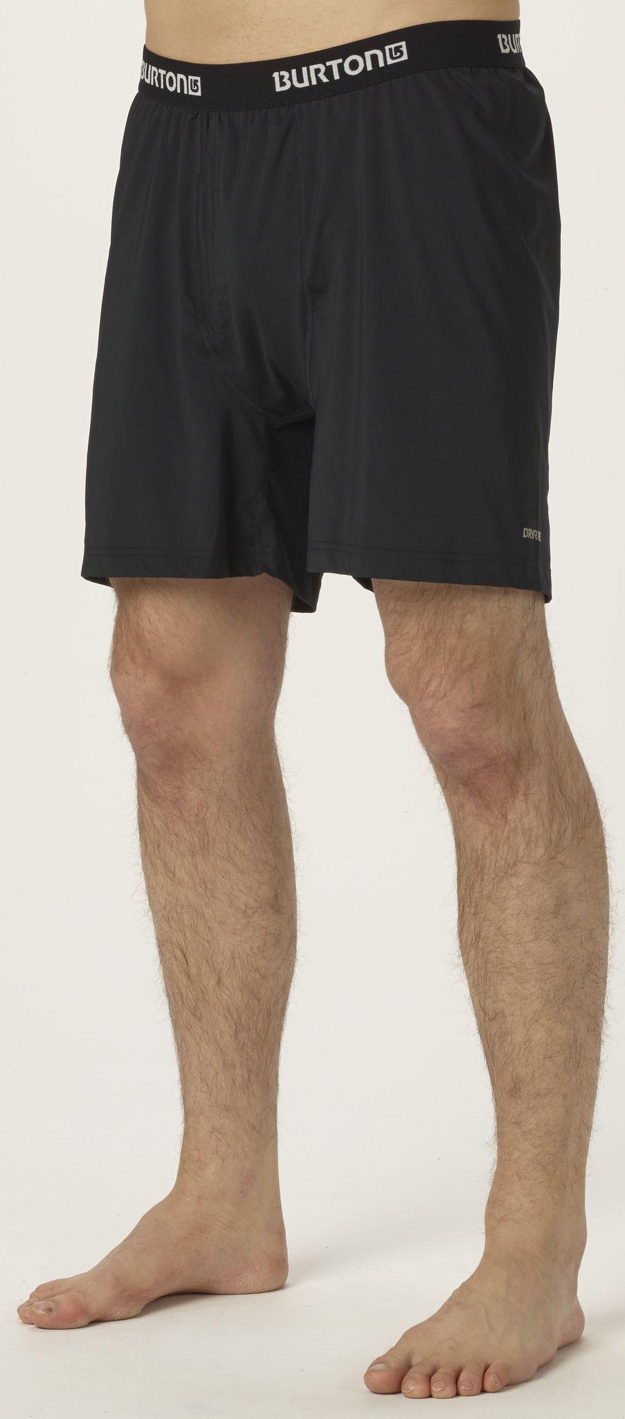 bielizna termiczna męska BURTON LTW BOXER TRUE BLACK