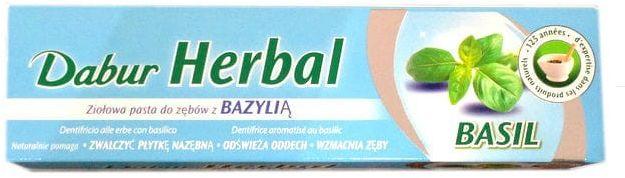 Pasta Do Zębów Dabur Herbal Basil 100g