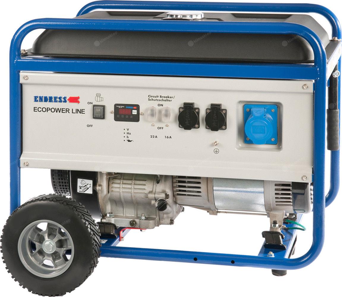 Agregat prądotwórczy Endress ESE 6000 BS Ecopower z zestawem kół
