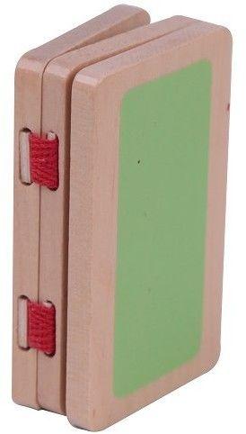 CLASSIC WORLD Nowoczesny Drewniany Domek Dla Lalek 21 Elementów