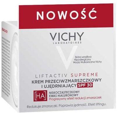 Vichy Liftactiv Supreme krem przeciwzmarszczkowy i ujędrniający SPF30 50 ml