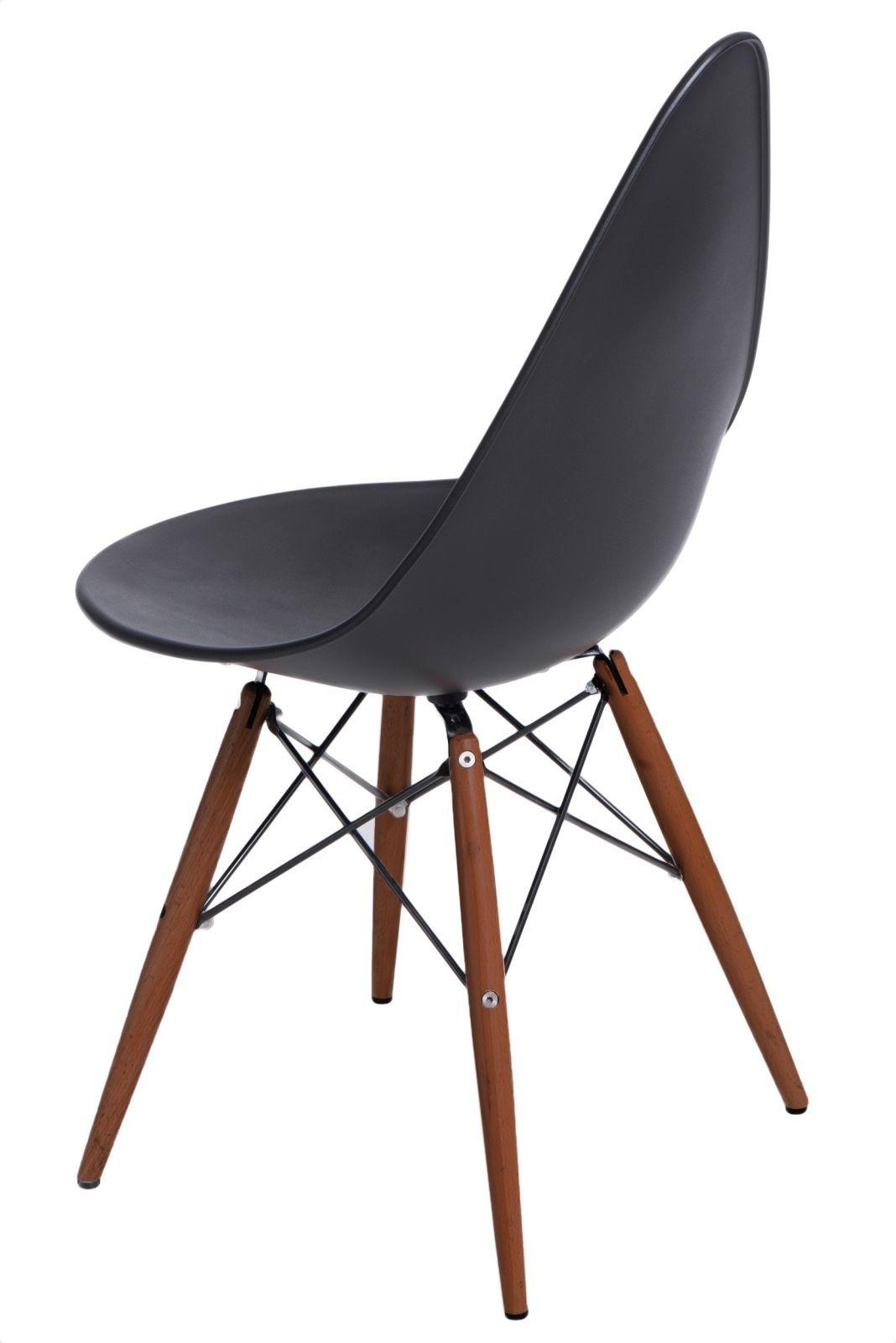 D2 Krzesło Rush DSW czarne/dark