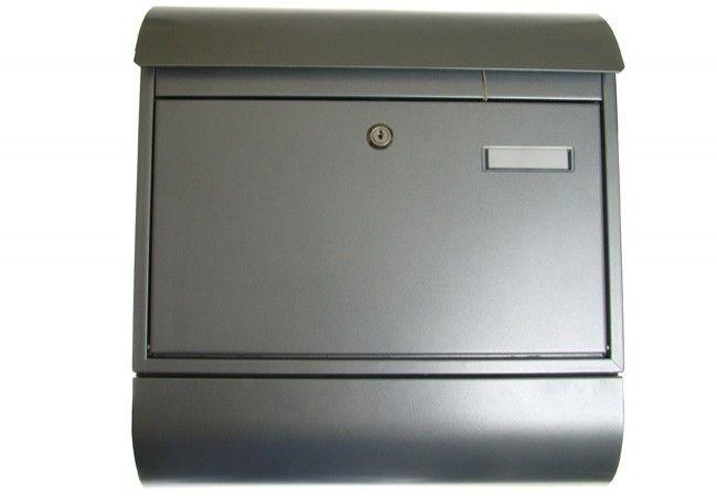 Skrzynka na listy 8R S z tubą srebrna