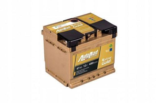 Akumulator AUTOPART GOLD 12V 47Ah 480A Lepszeatuo