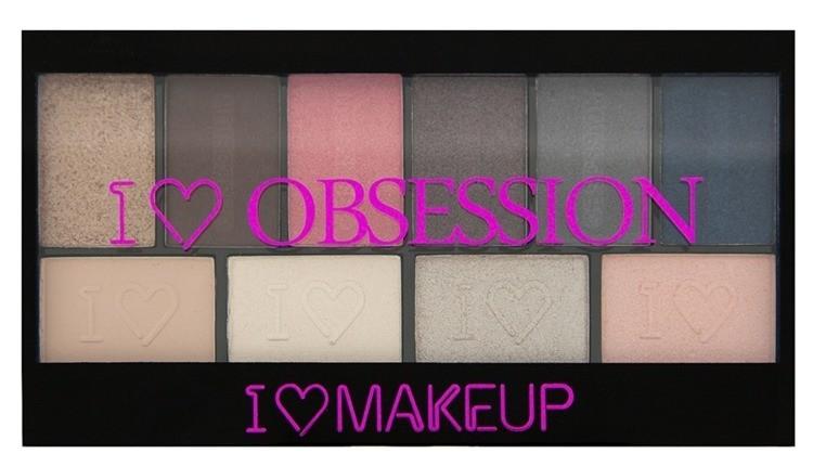 Makeup Revolution Obsession Palette Paris paleta cieni do powiek