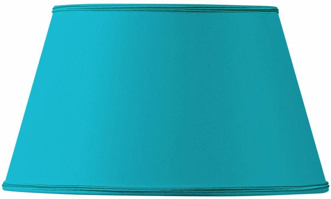 Abażur/klosz lampy, półokrągły, 20 x 14 x 11,5 cm, turkusowy