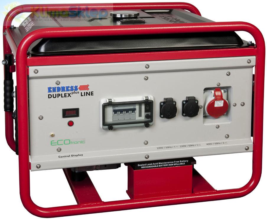 Agregat prądotwórczy Endress ESE 606 DHG-GT ES DUPLEX plus