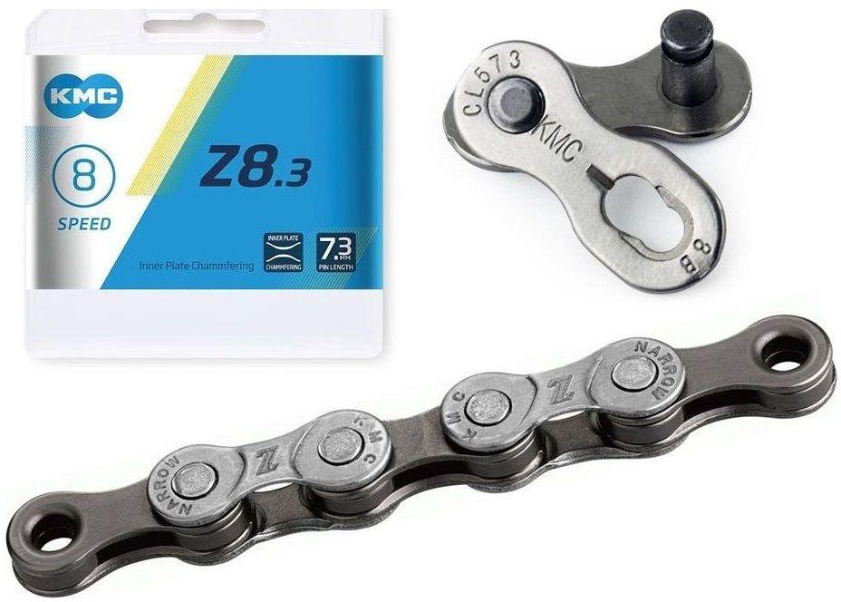 Łańcuch KMC Z8.3 114 ogniw 7,3mm 8-rzędowy