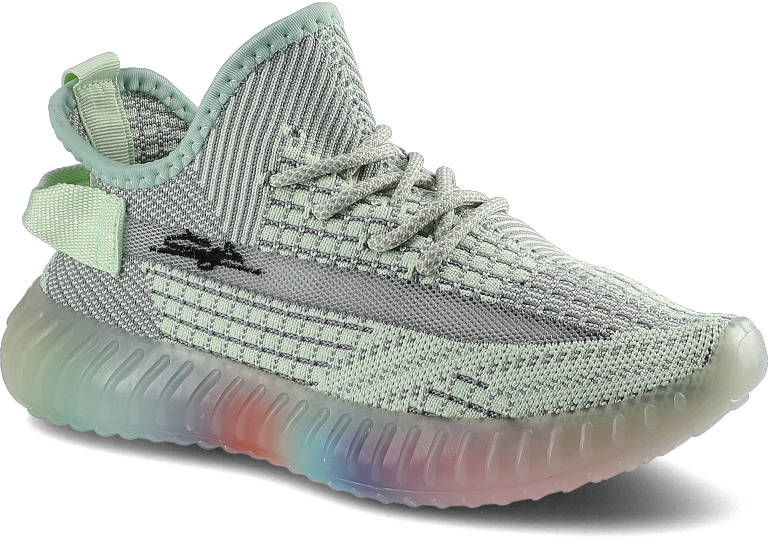 Sneakersy ARTIKER 48C1372 Jasnozielony