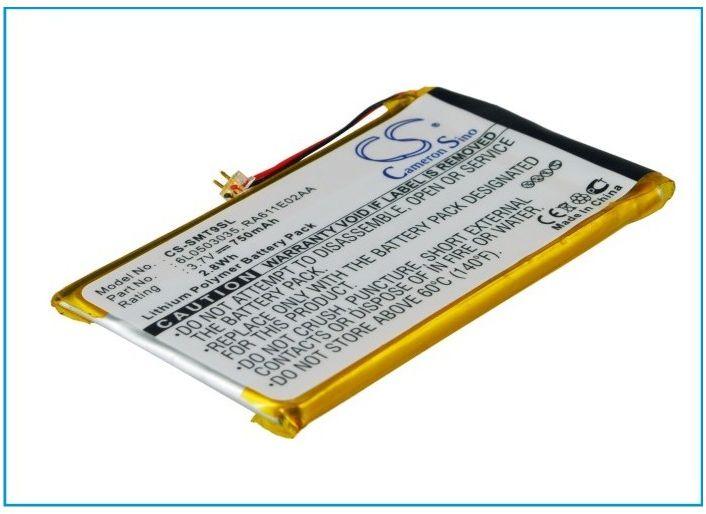 Samsung YP-T9 / 6L0503035 750mAh 2.78Wh Li-Polymer 3.7V (Cameron Sino)