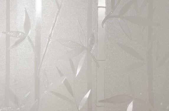 Statyczna folia okienna 67,5x150cm bambus