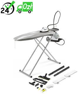 SI 4 Premium Home Line Stanowisko do prasowania, parownica z żelazkiem i deską Karcher ZABIJA WIRUSY I BAKTERIE