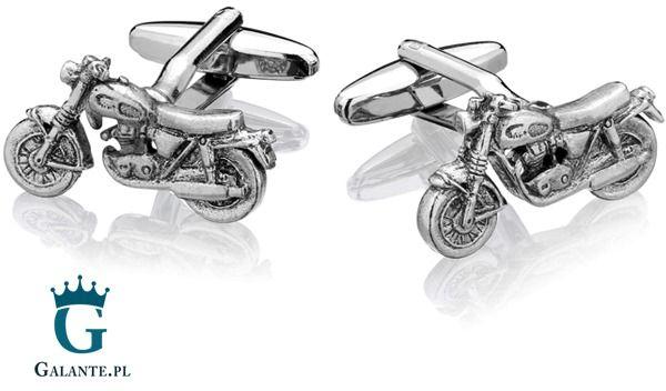 Spinki do mankietów x2 motocykle