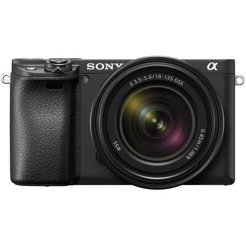 Sony A6400 + 18-135mm - aparat + obiektyw SEL18135, ILCE-6400M Sony A6400 + SEL18135 / ILCE-6400M