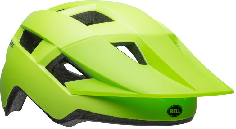 BELL SPARK JUNIOR Kask juniorski matte bright green black Rozmiar: 50-57,sparkjrbrightgreen