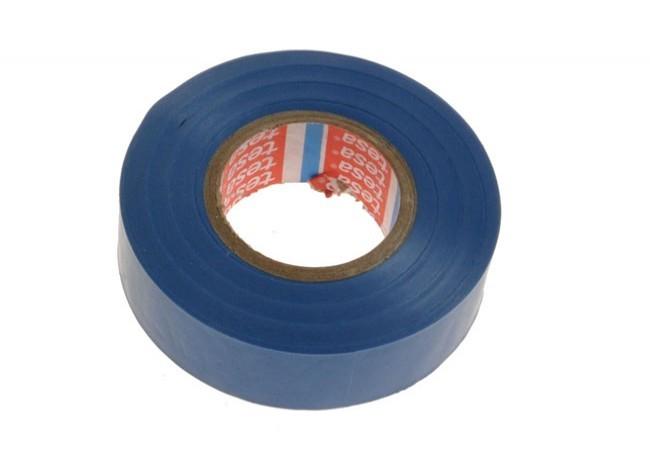 Taśma elektroizolacyjna 5000V PVC Tesa niebieska, długość 20 m, szerokość 19 mm (53988-00036-00)