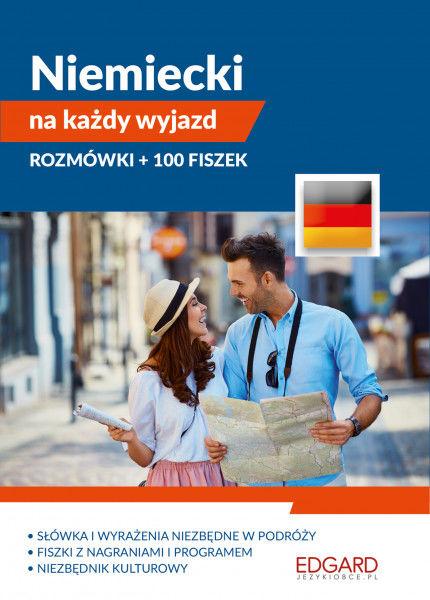 Pakiet. Niemiecki na każdy wyjazd. Rozmówki + 100 fiszek ZAKŁADKA DO KSIĄŻEK GRATIS DO KAŻDEGO ZAMÓWIENIA