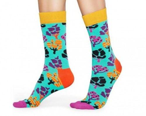 Happy Socks skarpetki TEE01-2700 r.36-40 kwiaty