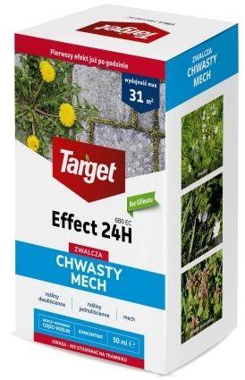 Effect 24h 680 ec  zwalcza chwasty i mech  50 ml target