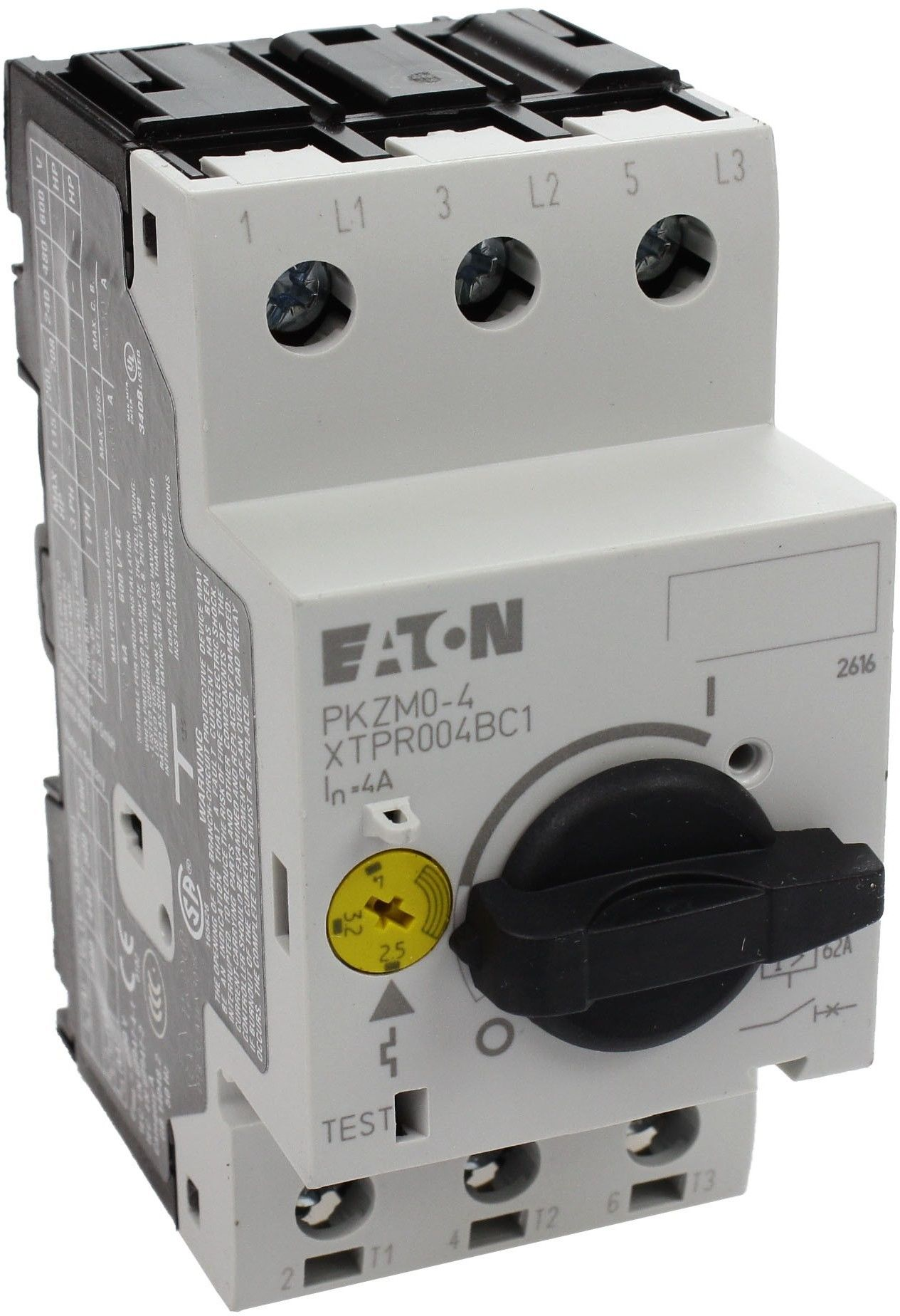 Wyłącznik silnikowy 3P 1,5kW 2,5-4A PKZM0-4 072737