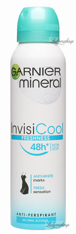 GARNIER - Mineral - Invisi Cool Freshness 48H Anti-Perspirant - Antyperspirant w spray''u - 150 ml