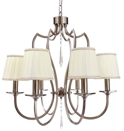 Lampa wisząca Zahara BL0280 Berella Light klasyczna oprawa w kolorze niklu