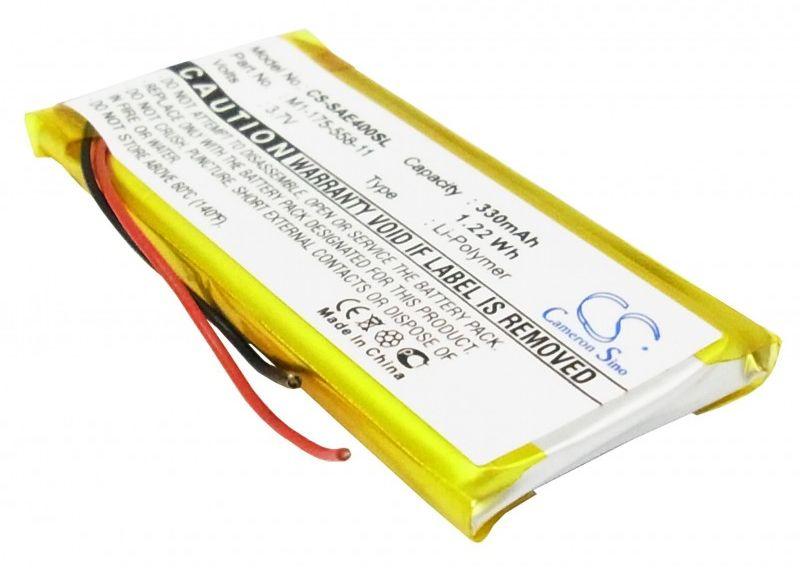 Sony NW-E403 / 1-175-558-11 330mAh 1.22Wh Li-Polymer 3.7V (Cameron Sino)